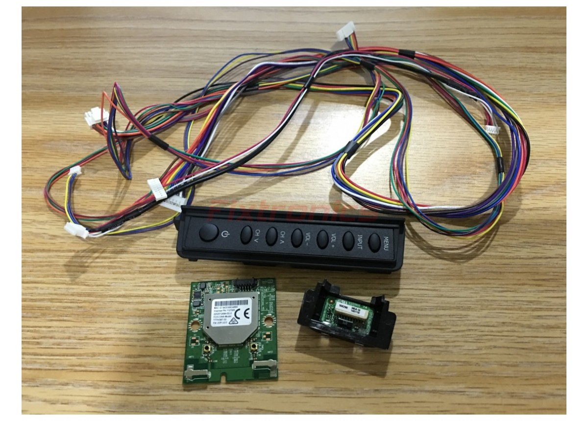 Hisense TV Model 48H5 Button Cntrl Brd RSAG6 356 0114  / 1127000